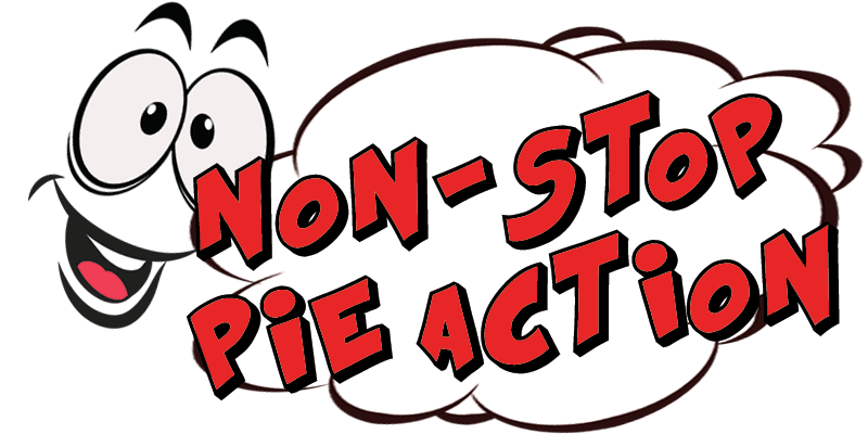 non-stop pie action logo